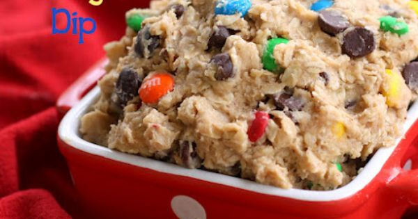 Monster cookie dough dip - gotta try this & will end up