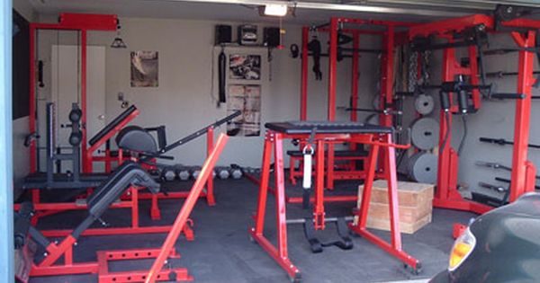 Lee gerney s home gym garage and