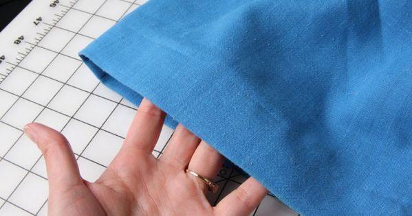 Tuto top pour faire un ourlet invisible couture pinterest points de couture tutoriel - Comment faire un ourlet de jean ...