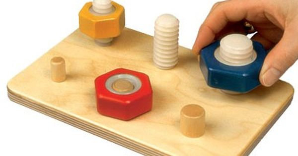 Toys For Stroke Recovery : Nut bolt board terapia ocupacional pinterest