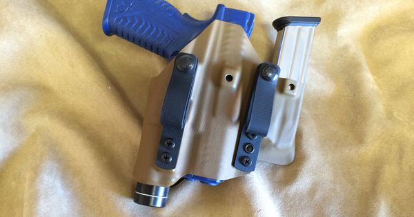 Nsrt appendix light bearing holster mag pouch combo gear training
