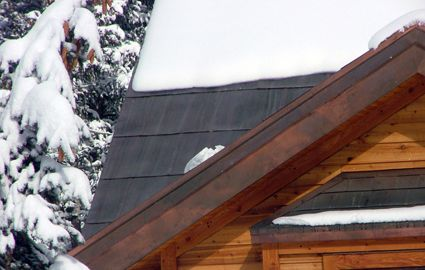 Tuff Cable Roof Ice Melt Installed Under Metal Shingles Roof Ice Melt Roof Metal Shingles