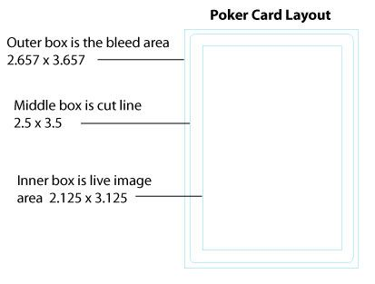 Poker Size Playing Cards Playing Cards Design Card Sizes Card Layout