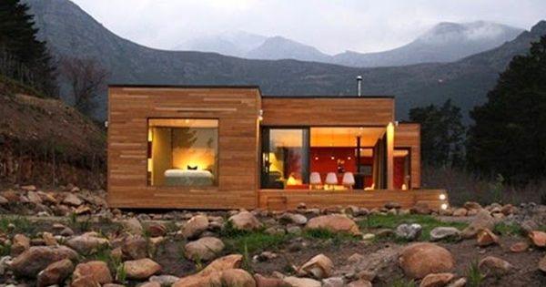 Planos casas de madera prefabricadas casas ecologicas - Casas prefabricadas ecologicas ...