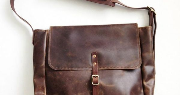 sth vintage usps mail bag tobacco brown small sth