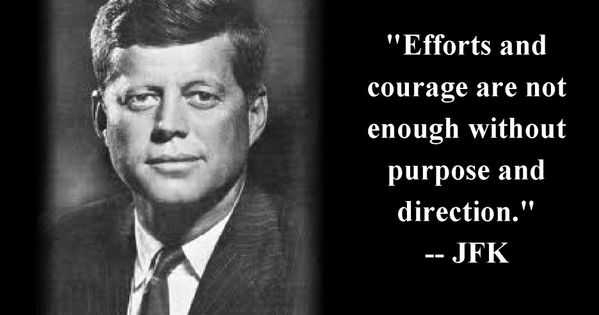 Famous People Quotes About Life: John Fitzgerald Kennedy ...