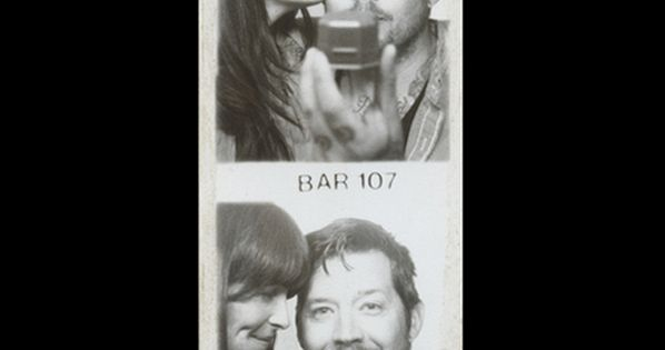 "Adorable photo booth proposal. ""These are the pictures from when we got"