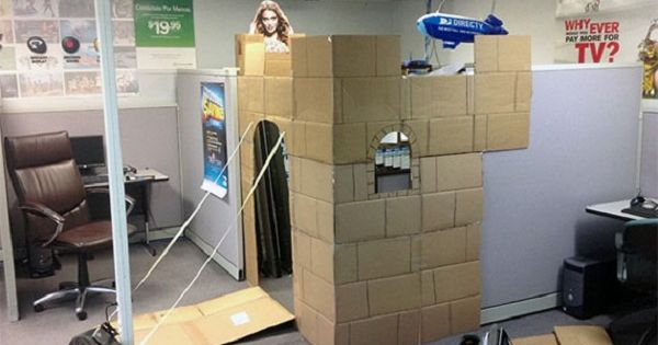 How To Make You Cubicle Your Castle Just Because