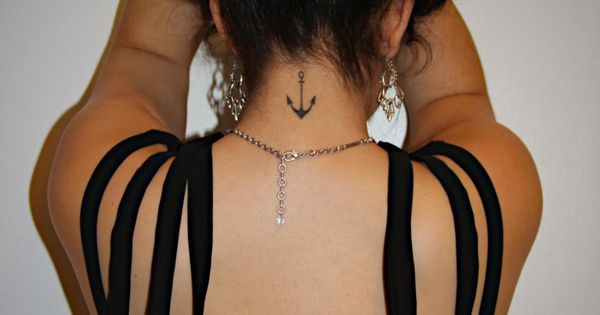 anchor tattoo placement