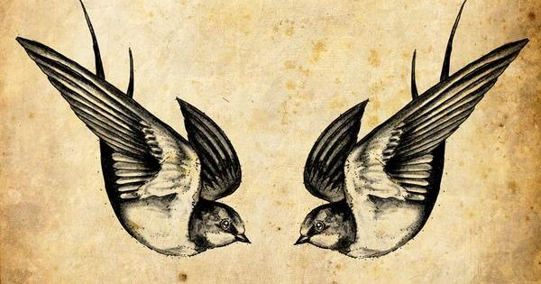 In history sailors would tattoo swallows on their body as a symbol