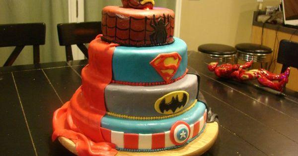 Finally a superhero party idea with Iron man on it!