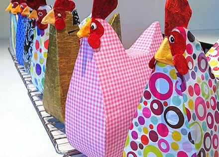 Chicken Craft Cereal Box