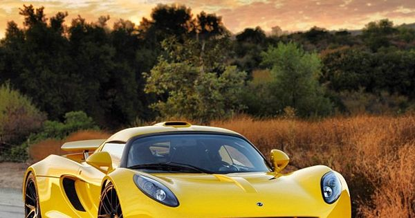 One of the fastest cars in the World, the Hennessey GT Venom.