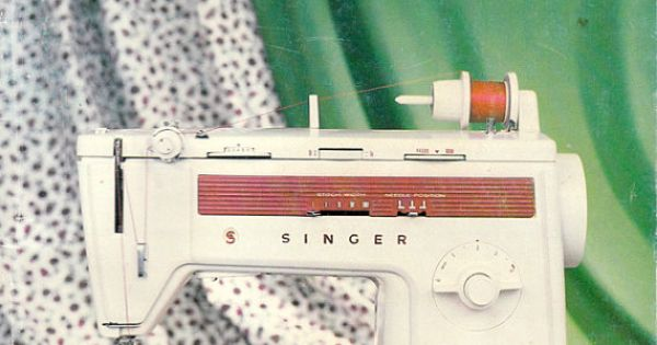 Singer Stylist Sewing Machine Model 833 Original