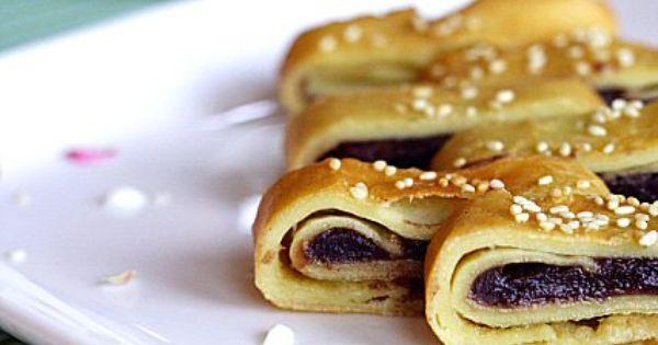Red Bean Paste Pancakes   Recipe   Pancake recipes ...
