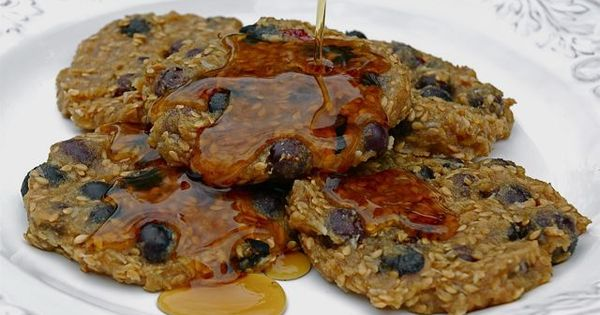 Blueberry Flax Pancakes | healthy recipes | Pinterest | Blueberries ...