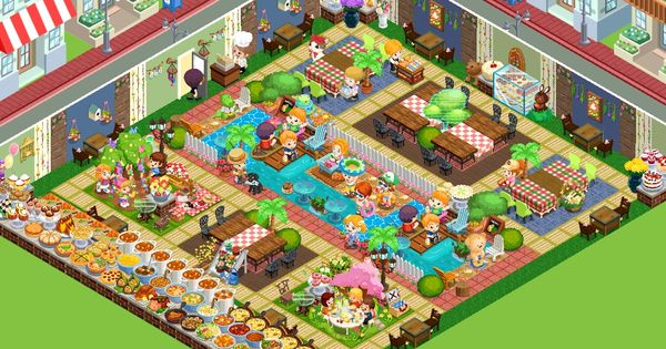 Restaurant story app game bakery fashion
