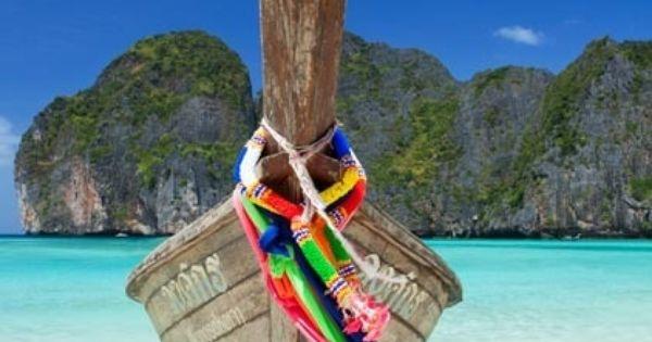 Longtail Boat, Koh Phi Phi - Nice | Pinterest - Boten, Thailand en Phi ...