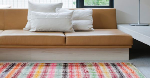 18 Rooms with Colorful Rugs Photo http://design-milk.com/rooms-colorful-rugs/ design interior colour furnishings home