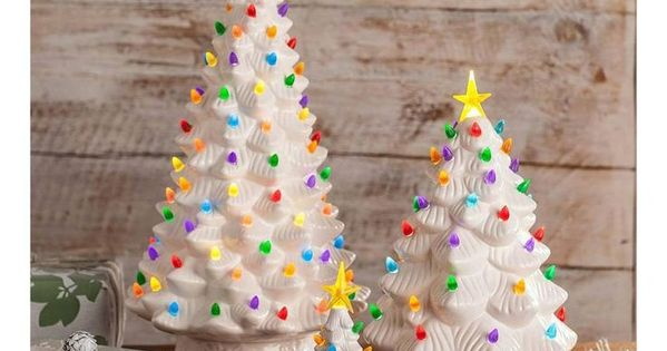 23 Christmas Tree Ideas Ceramic Christmas Trees Outdoor Christmas Decorations Outdoor Christmas