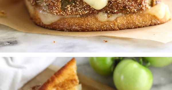 Fried Green Tomatoes Grilled Cheese is spiced up with ...