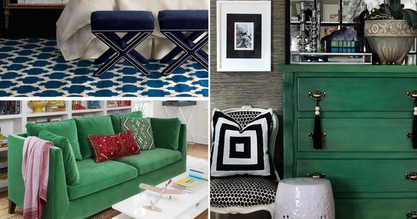 Decorating With Emerald Green - Green Decorating Ideas ...