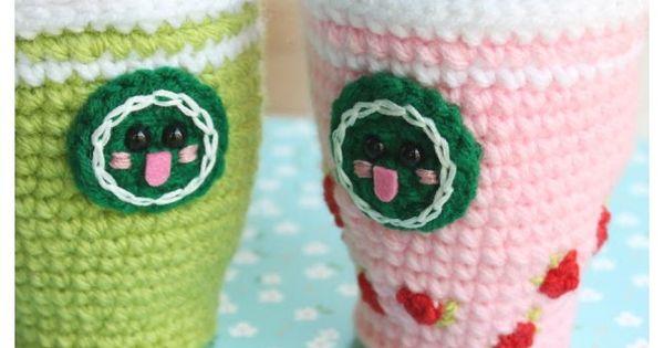 Amigurumi Starbucks : Starcutes Buddies Starbucks Crochet Pattern Frappuccino ...