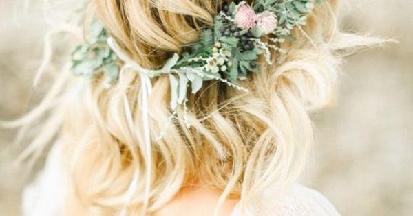 Coastal United Kingdom Wedding Inspiration Beach Hair