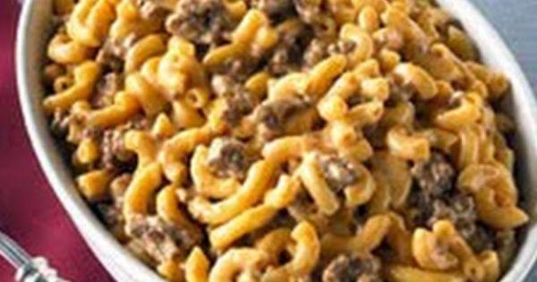 Velveeta Cheeseburger Mac Recipe Recipe Mac Recipe Recipes Kraft Recipes