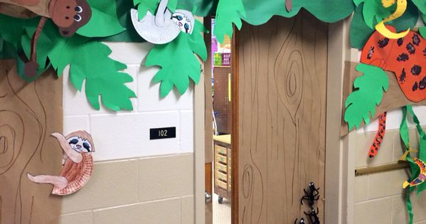 Rainforest Door Decorations Rain Forest Unit