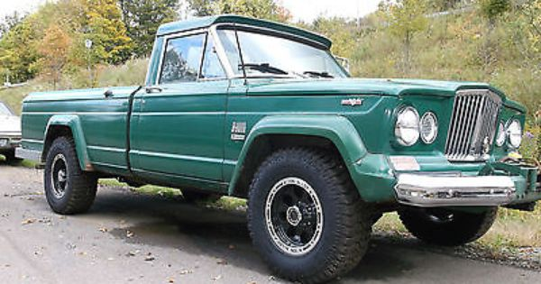 classic jeep truck jeep gladiator j3000 amc 327 v8 manual 4x4 solid awesome classic truck. Black Bedroom Furniture Sets. Home Design Ideas
