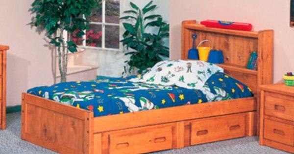 Trendwood Bunkhouse Mates Bed Complete Cinnamon Bedroom