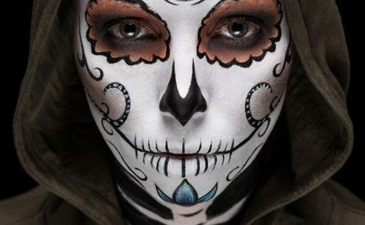 Halloween last minutes makeup  - photo