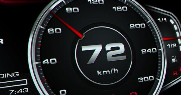 Audi R8 Digital Speedometer Concept On Behance Digital