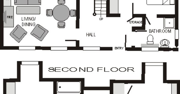 Floor Plan Of O 39 Connor 39 S Cottage Garrykennedy County