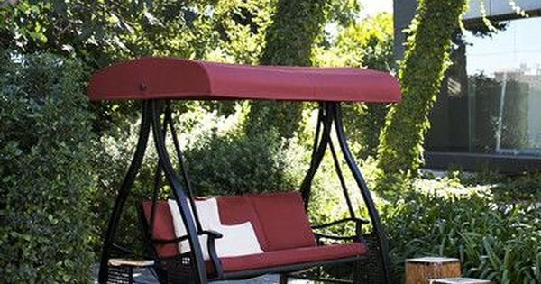 Freeport Park Buchholz Porch Swing With Stand Wayfair Porch Swing With Stand Hanging Porch Swing Porch Swing
