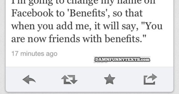 facebook friends with benefits quotes