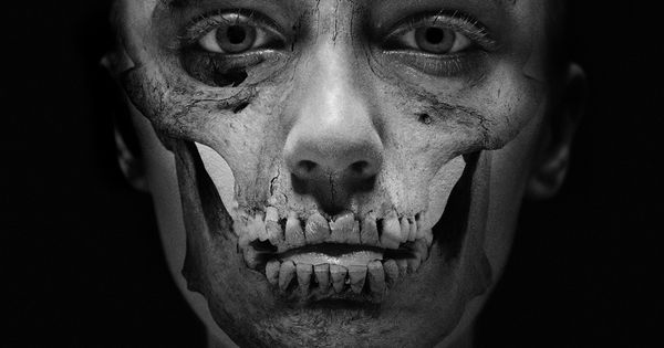 Zombie /// Carsten Witte's series of photographed painted faces