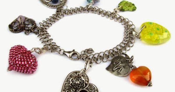 Panna Pierniczek Wosp Making Bracelets With Beads Beaded Bracelets Charm Bracelet