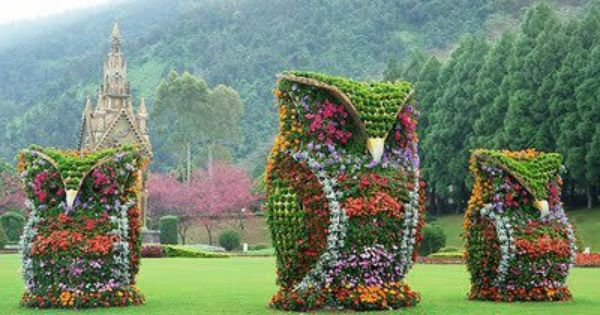 Owl planted garden topiary