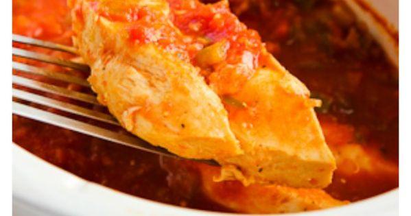 Slow cooker salsa, Salsa chicken and Salsa on Pinterest