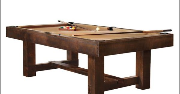 Pottery Barn Pool Table With Ping Pong Cover Pottery
