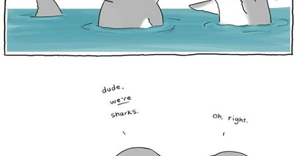 Gotta love shark humor...