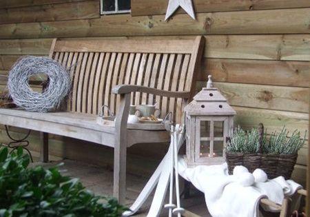 Outdoor Christmas Garden Inspiration ♥ Kerst Tuin Inspiratie Fonteyn