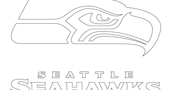 Seattle Seahawks Logo Coloring Page Supercoloring Com Coloring Pages Of The Seattle Seahawks Logo