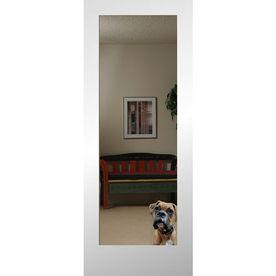 Shop Reliabilt Mirror Panel Mirror Pine Slab Interior Door Common 24 In X 80 In Actual Slab Door Reliabilt Doors Interior