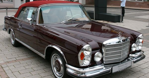 Mercedes benz 280 se convertible autobahn 1946 1991 for 1946 mercedes benz