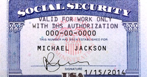 This Is Ssn Card (Usa) Psd (Photoshop) Template. On This Psd
