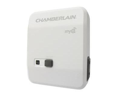 Chamberlain Myq Plug In Smart Lamp Control Chamberlain Garage Door Garage Door Lights Smart Garage Door Opener