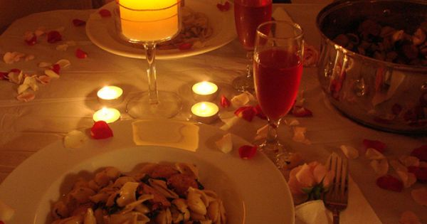 Seven romantic meals under 10 crafts pinterest for Cena romantica para mi novio